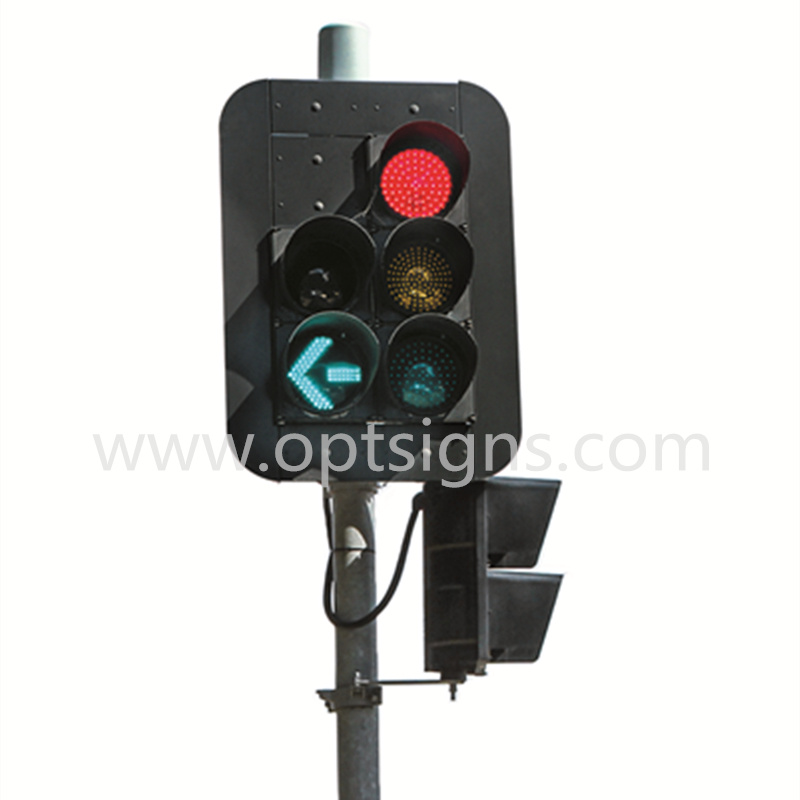 High Bright Stop Go LED Traffic Signal Lights
