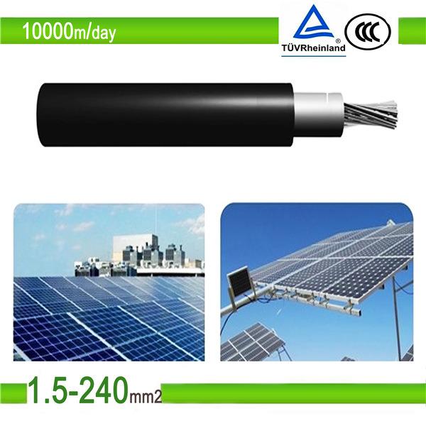 Solar Cable 4sqmm TUV UV Resistent 2pfg 1169 PV1-F 4mm2 PV Cable