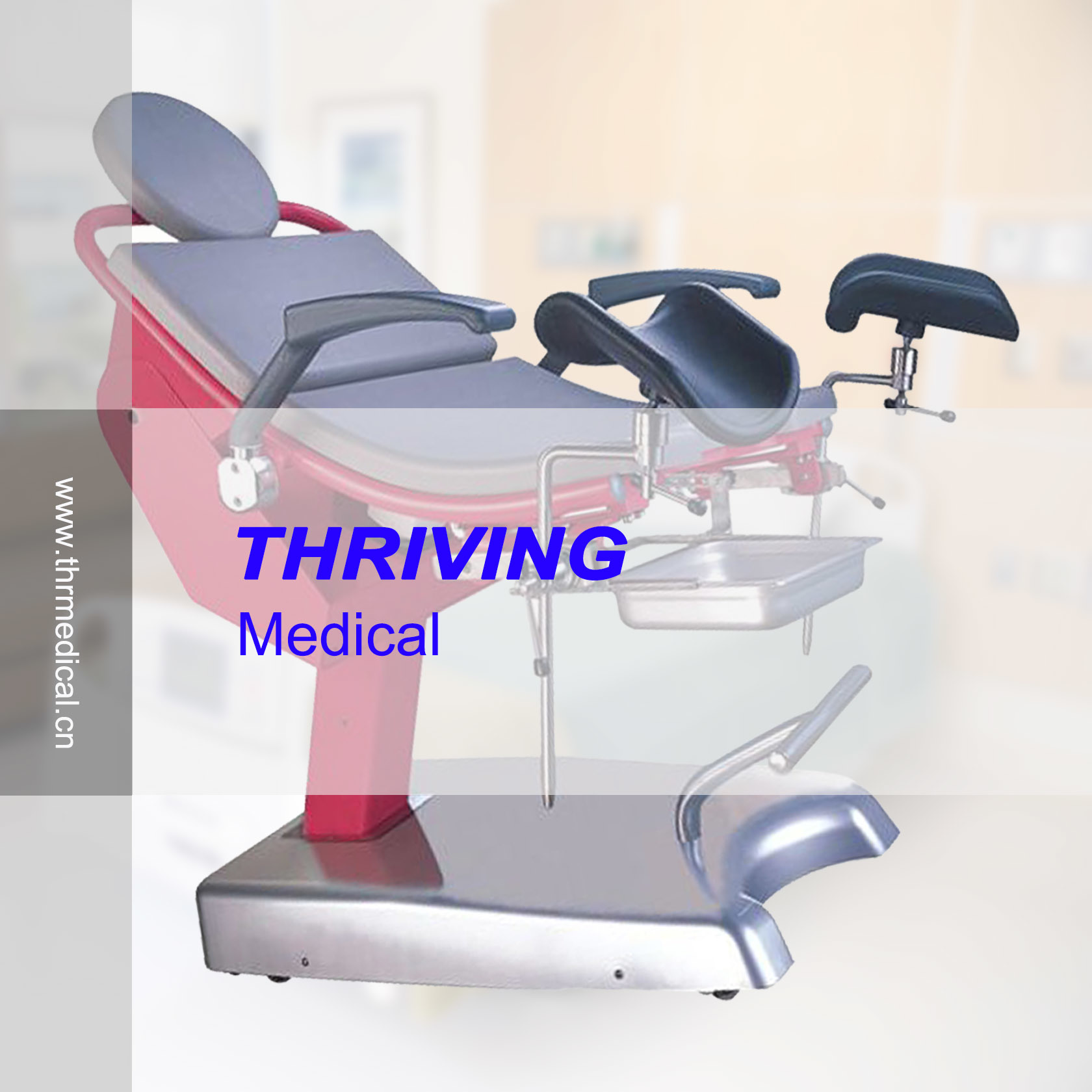 Medical Electric Gynecology Chair Operating Chair