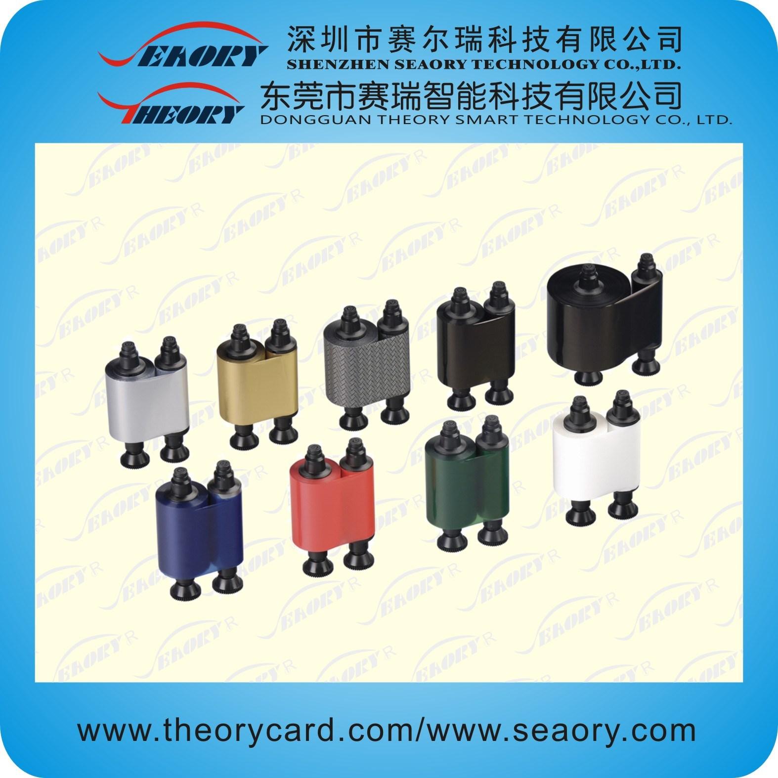 Color Ribbon/Black Ribbon for Smart Card Printer