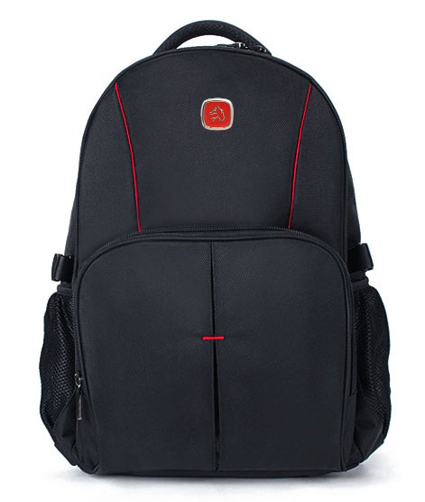 Series Black Modern and Double Strap School Backpack Bag