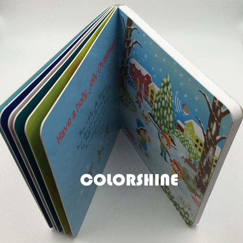 High Quality Child Speaking Sound Music Board Book