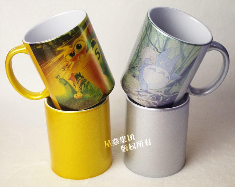 Sublimation Ceramic Cup 11oz Pearl Coating Mugs