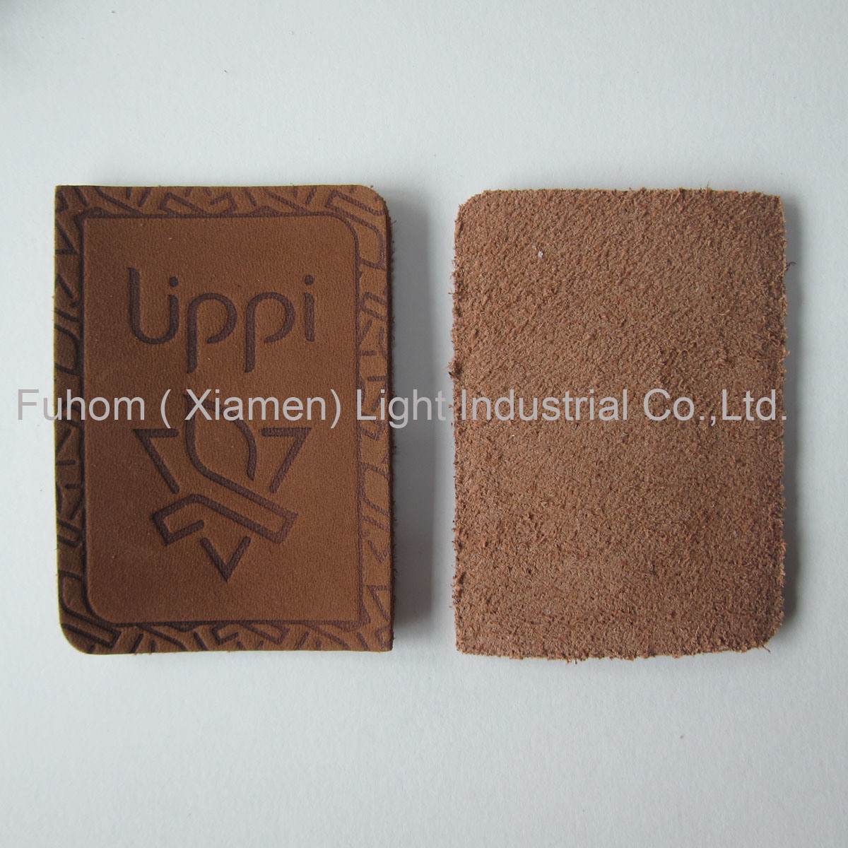 Customzied High Quality Garment Cowhide Label / Cowhide Patch
