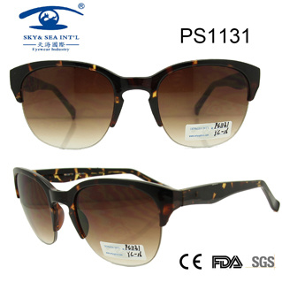 Woman Fashion Plastic New Arrival Sunglasses (PS1131)