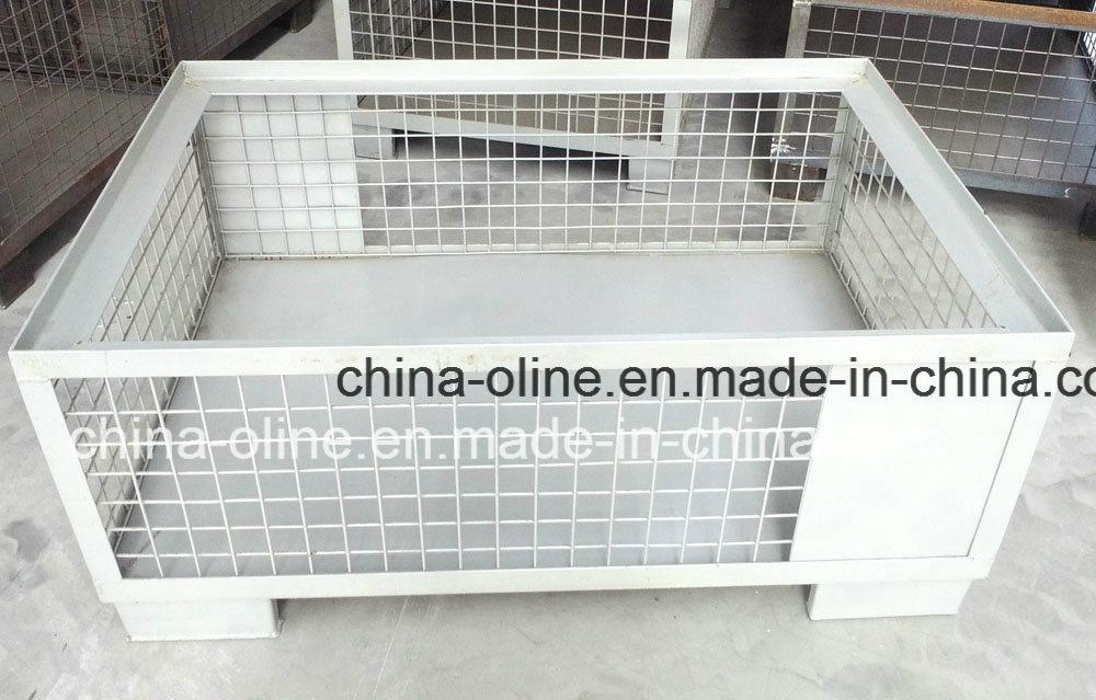 Steel Top Open Wire Mesh Basket
