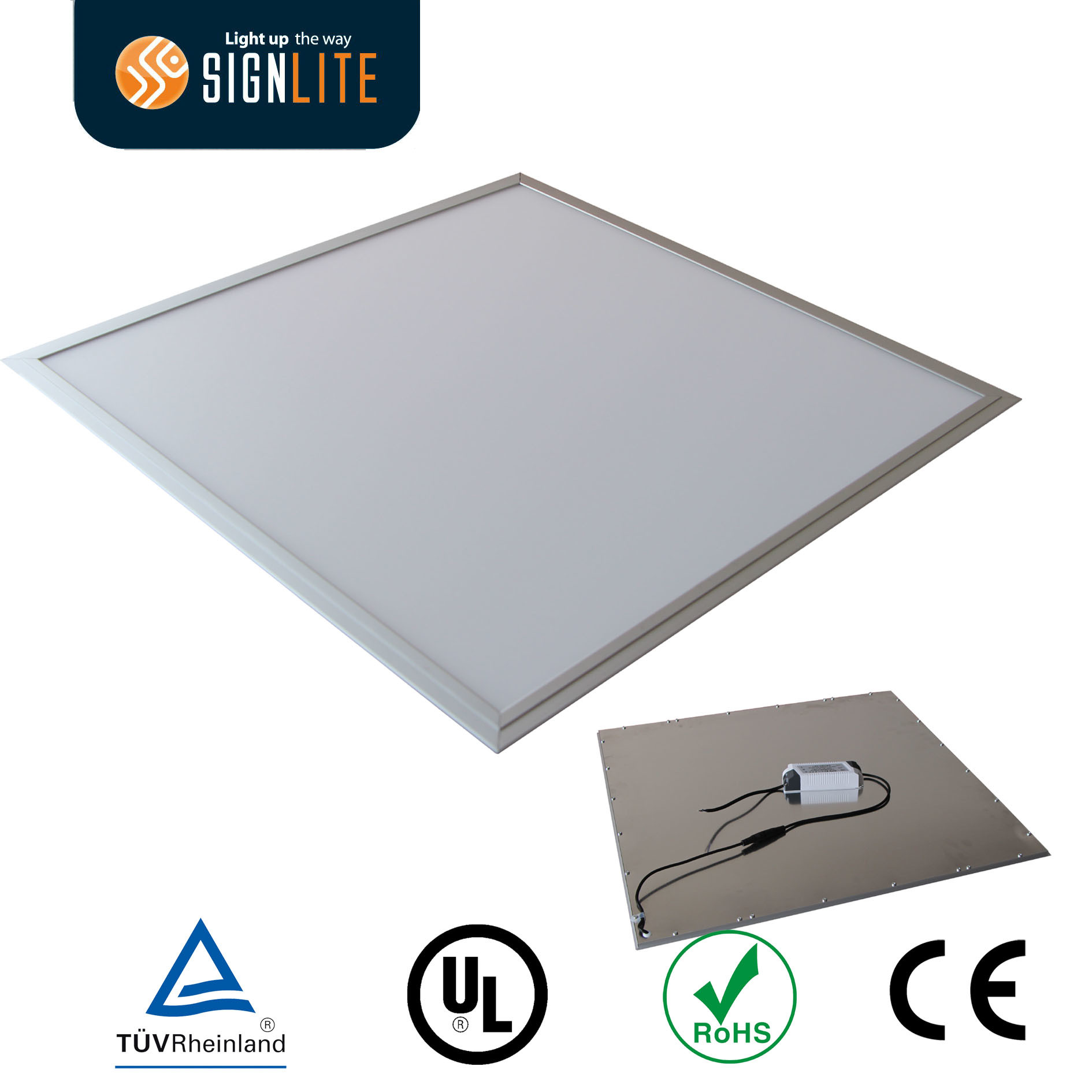 china 600 600mm40w led panel light aluminum frame smd ledsled back light panel with cerohs china led back light panel 40w led panel
