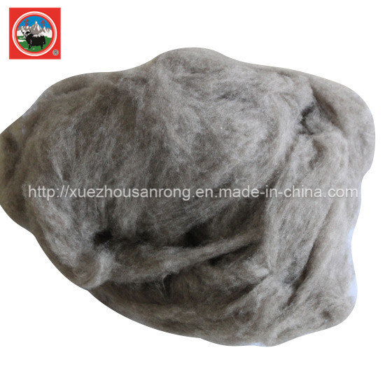 100% Combing Beige Yak Wool / Cashmere /Camel Wool Raw Material /Fabric