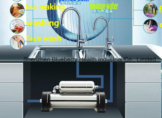 304 Stainless Steel Chlorine-Free Undersink Water Purifier Double Stage