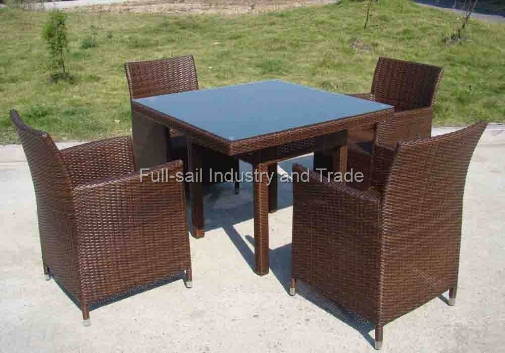 China Rattan Garden Patio Outdoor Wicker Furniture Sofa