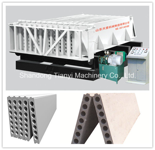 Light Weight Concrete Wall Panel/ Hollow Core Slab Extruder Machine