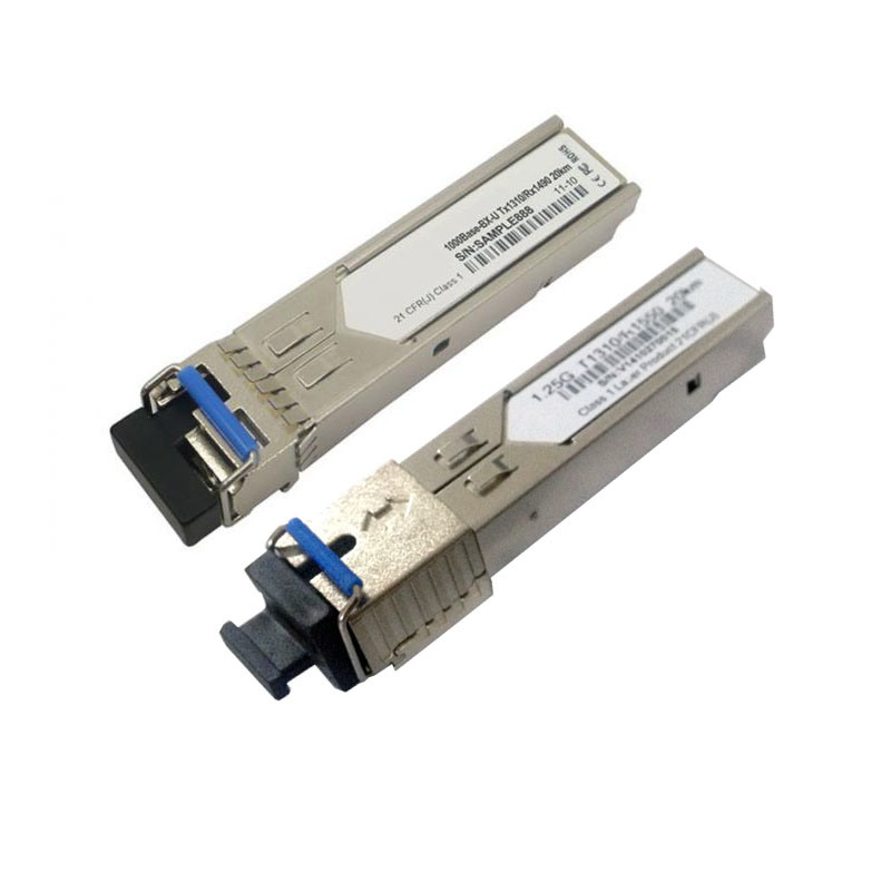 1.25g Wdm SFP Transceiver Module GBIC 20km (PHY-3524-1Sx)