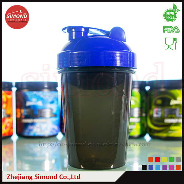 400ml Spider Shaker Bottle, Plastic Shaker Cup