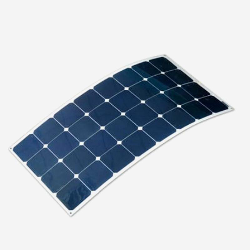 100W 18V Mono Solar Cell Silicon Wafer Price Semi Flexible Panel