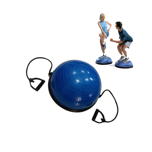 Half Ball Balanance Trainer with Resistance Rope and Pump