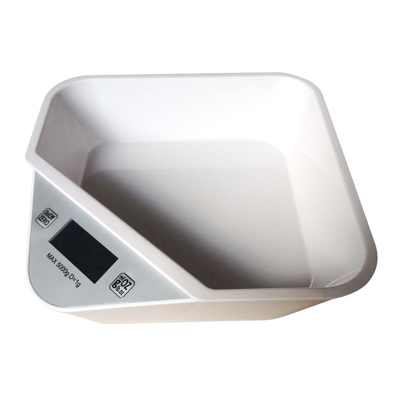 2015 Kitchen Scale with ABS Plastic Removable Bowl (EK821W)