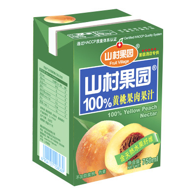 Aseptic Juice Brick Carton