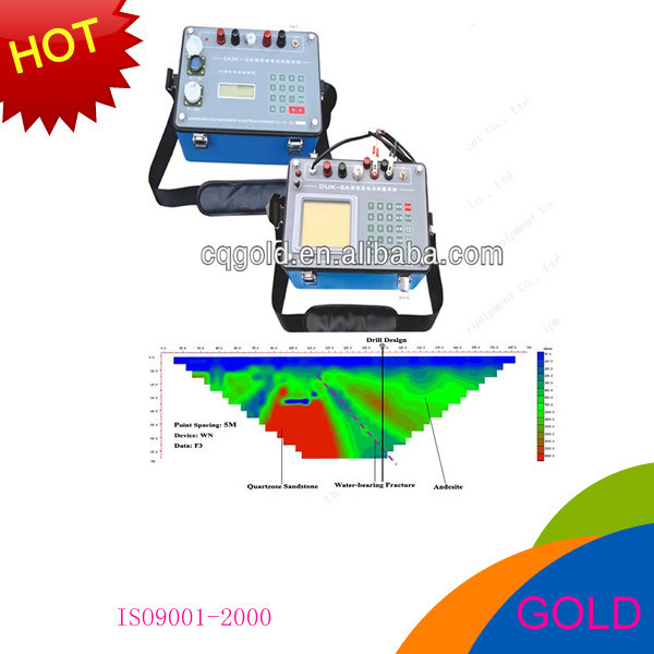Duk-2 Electric Tomography, Resistivity Imaging, Geological Mapping Instrument for Water Detection, Water Finder, Groundwater Detector