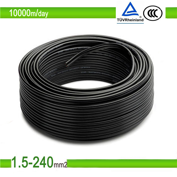 Solar Cable 4sqmm TUV UV Resistent 2pfg 1169 PV1-F 4mm2 PV Cable