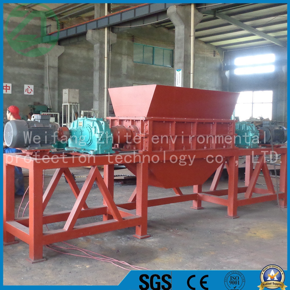Factory Plastic/Tire/Tyre/Rubber/Wood Pellet, Paper, Books Shredder
