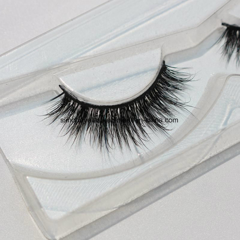 Natural Siberian Mink Hair Eyelashes for Makeup Artist with Ce Certificate
