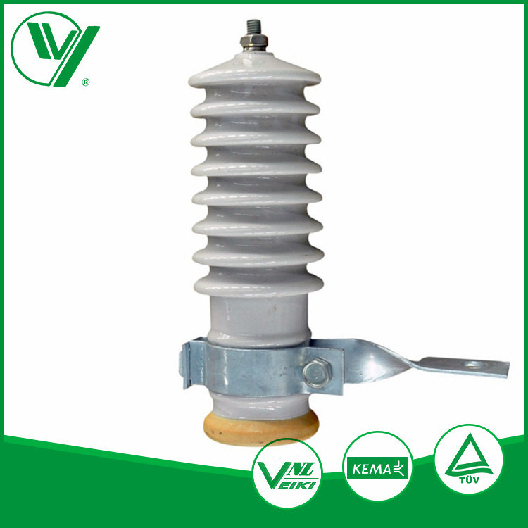 Rated Voltage 60kv Line Type Polymer Housing Lightning Arrestor Without Gaps