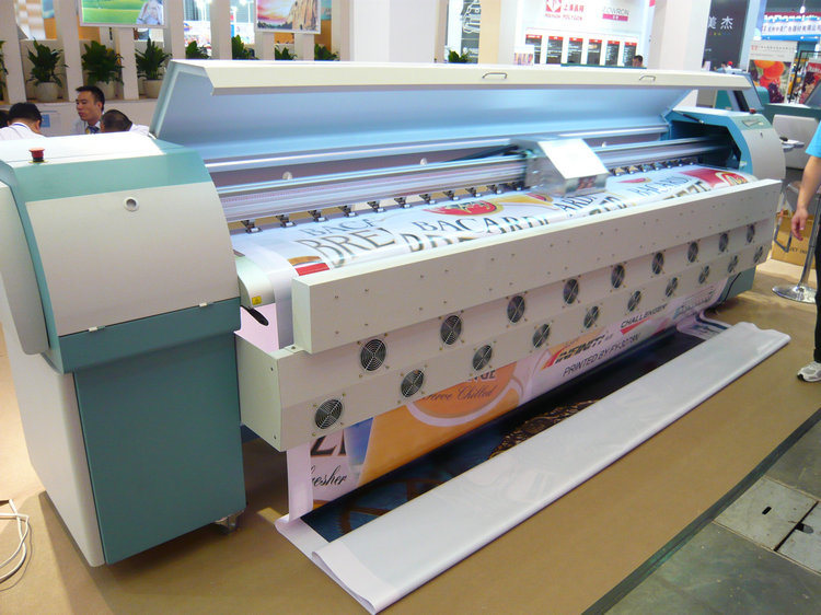 Infiniti Challenger Fy3278n Large Format Printer (8 seiko510/50pl heads, fast speed 157 sqm/h)