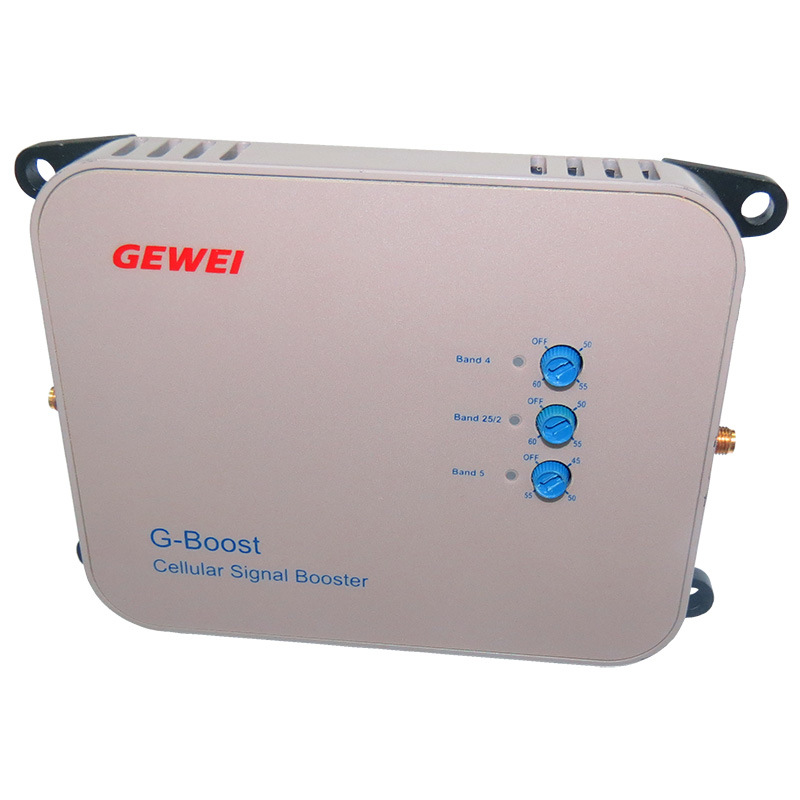 Cellular 850, PCS1900 and Pr-X3-C1 Aws Tri-Band Mobile Signal Booster