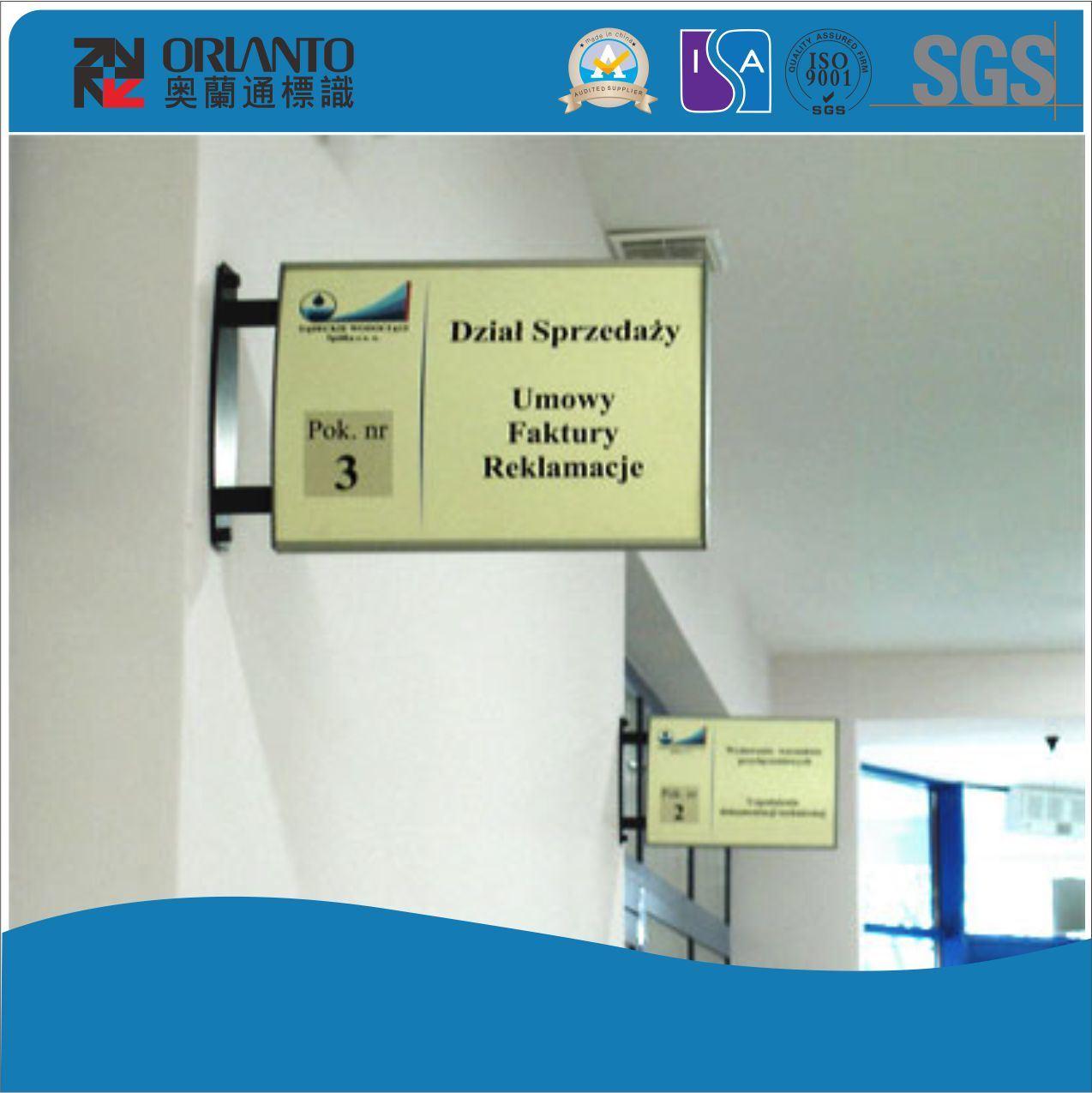 School Door Wall Bracket Signage