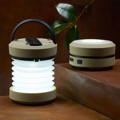 Hand Crank Accordion Lantern, LED Lantern, Camping Lantern