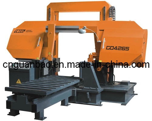 Double Column Band Sawing Machine for Metal Cutting Gd4265