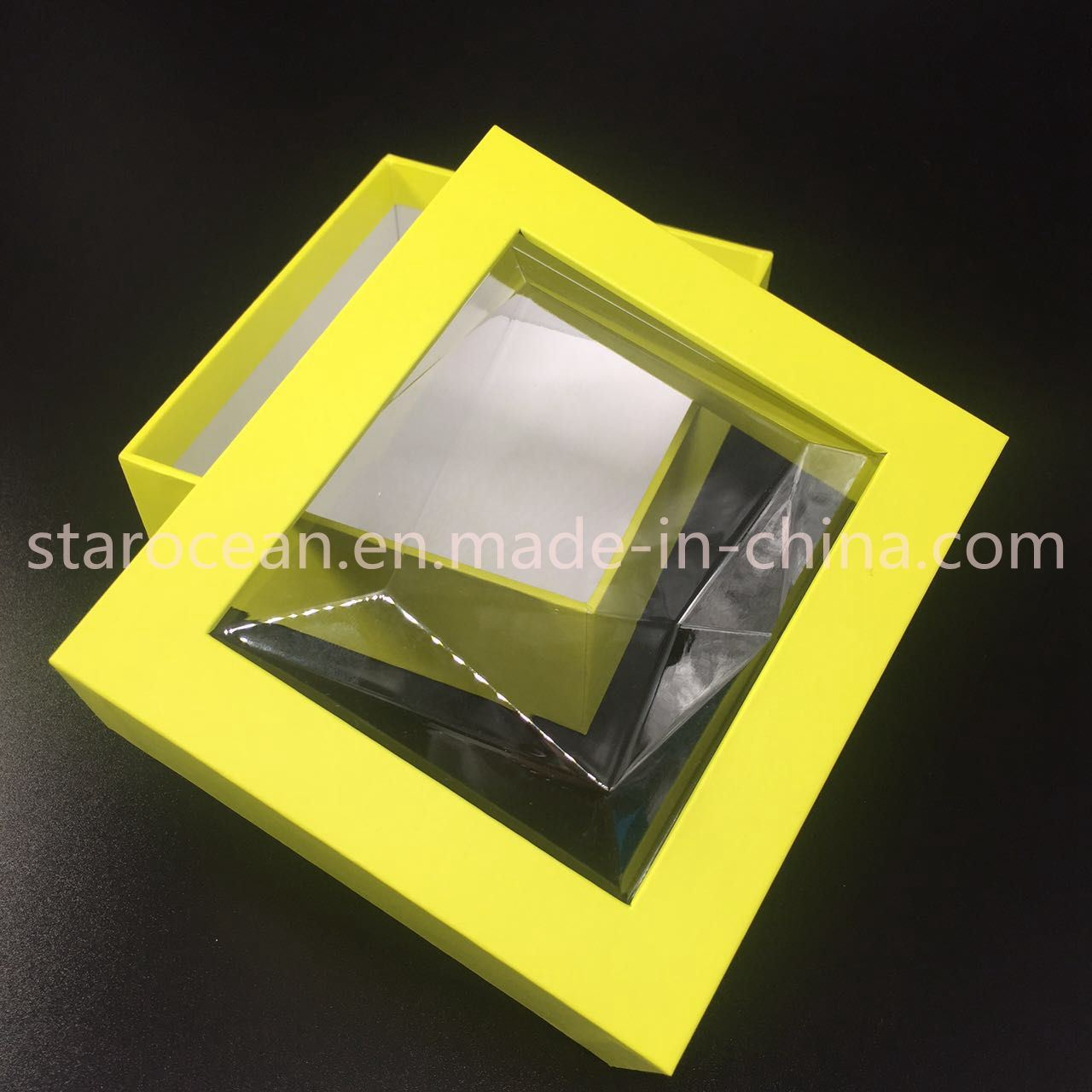 Gift Box for Plastic Box Cosmetic Packaging