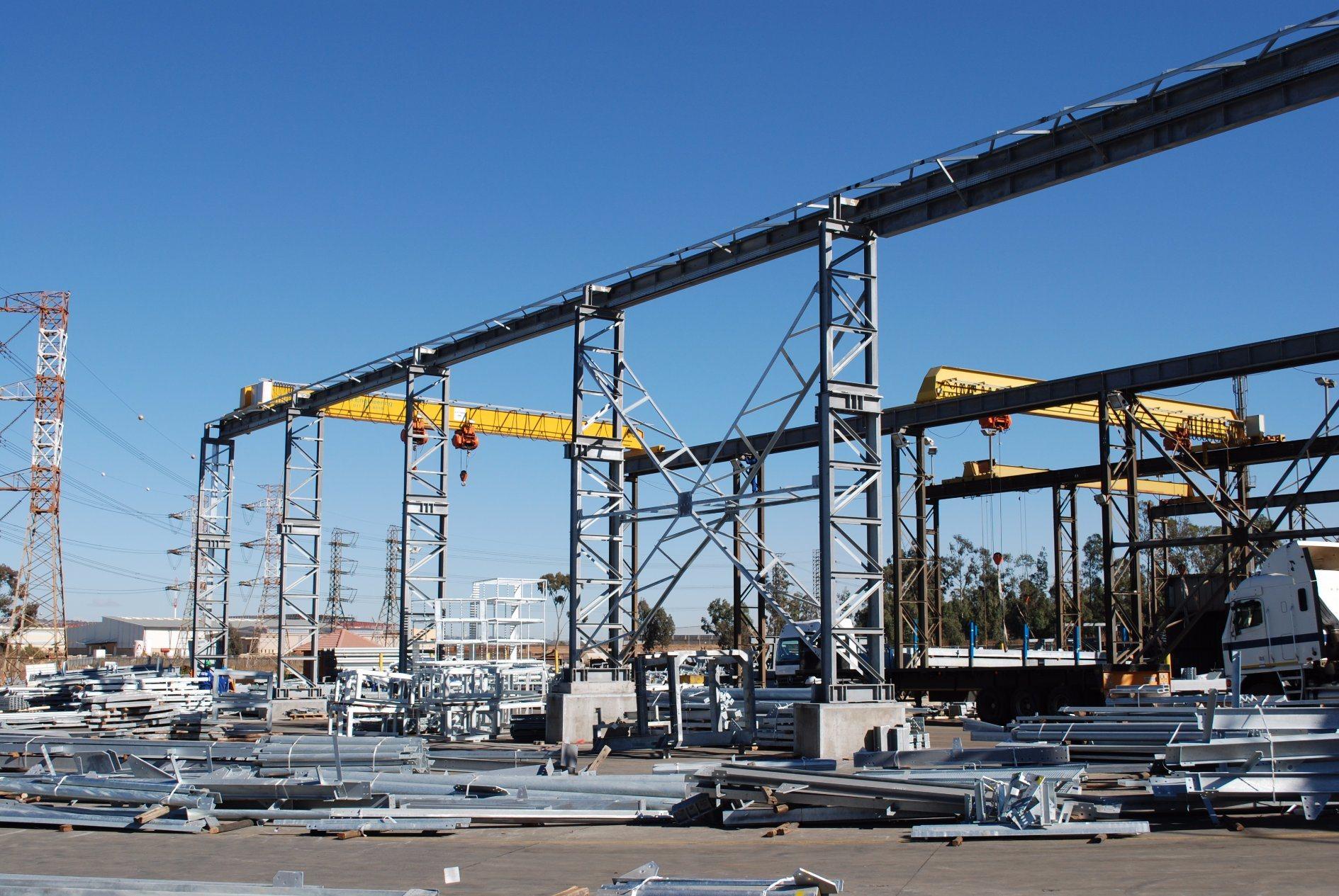 Industrial Steel Workshop / Prefabricated Steel Structure Workshop