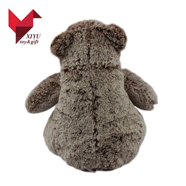 Wholesale Furry 30 Cm Stuffed Plush Teddy Bear with Ribbon