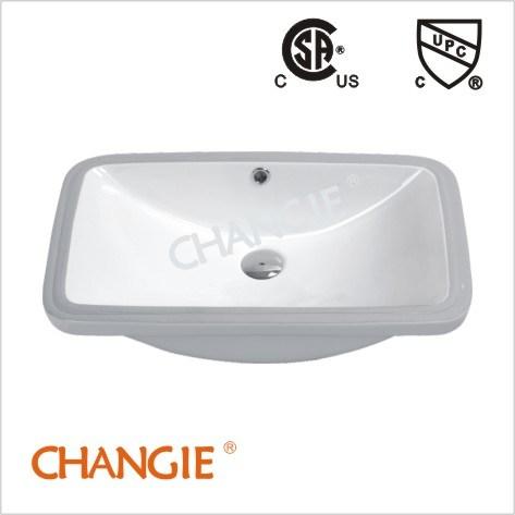 Upc, CSA, Undermount Ceramic Bathroom Sinks (1610)