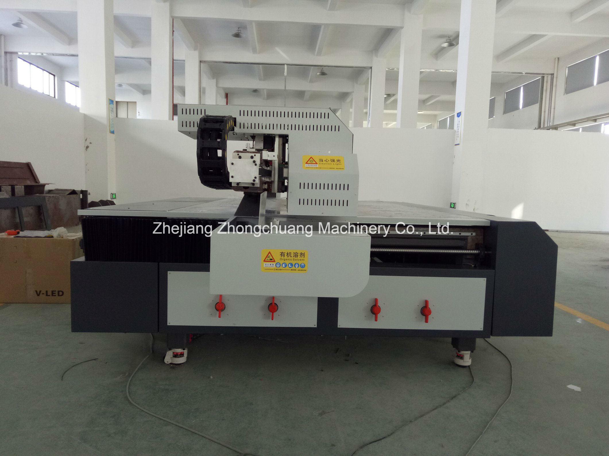 2017 New PVC/Plywood/Eco-Wood/Panel Printing Machine UV Flatbed Printer