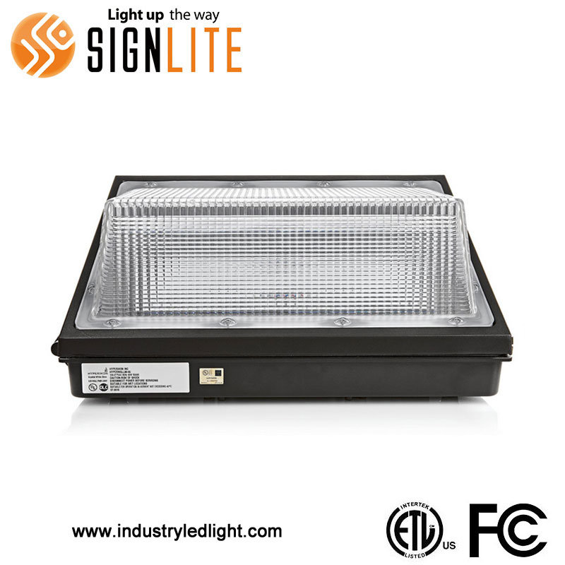 Outdoor Use 50W LED Wallpack Light with ETL FCC