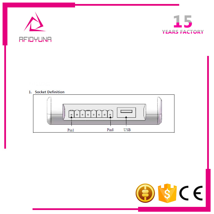 Short Range UHF Cheap Desktop RFID Reader