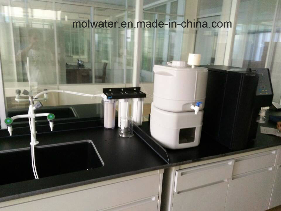 LCD Display 18.25mΩ Laboratory Water Purifier with High Purity