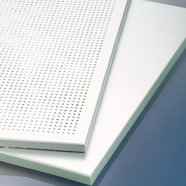 Aluminum Suspened False Honeycomb Sandwich Ceiling with Light Weight