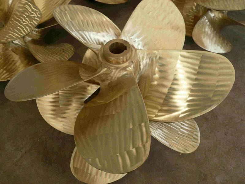 Custom Designed Effective High Speed Bronze Marine 5 Blades Propeller