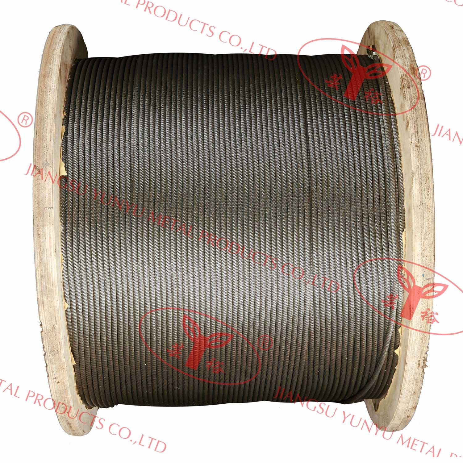 Multi-Laid Strands Steel Cable - 17X7