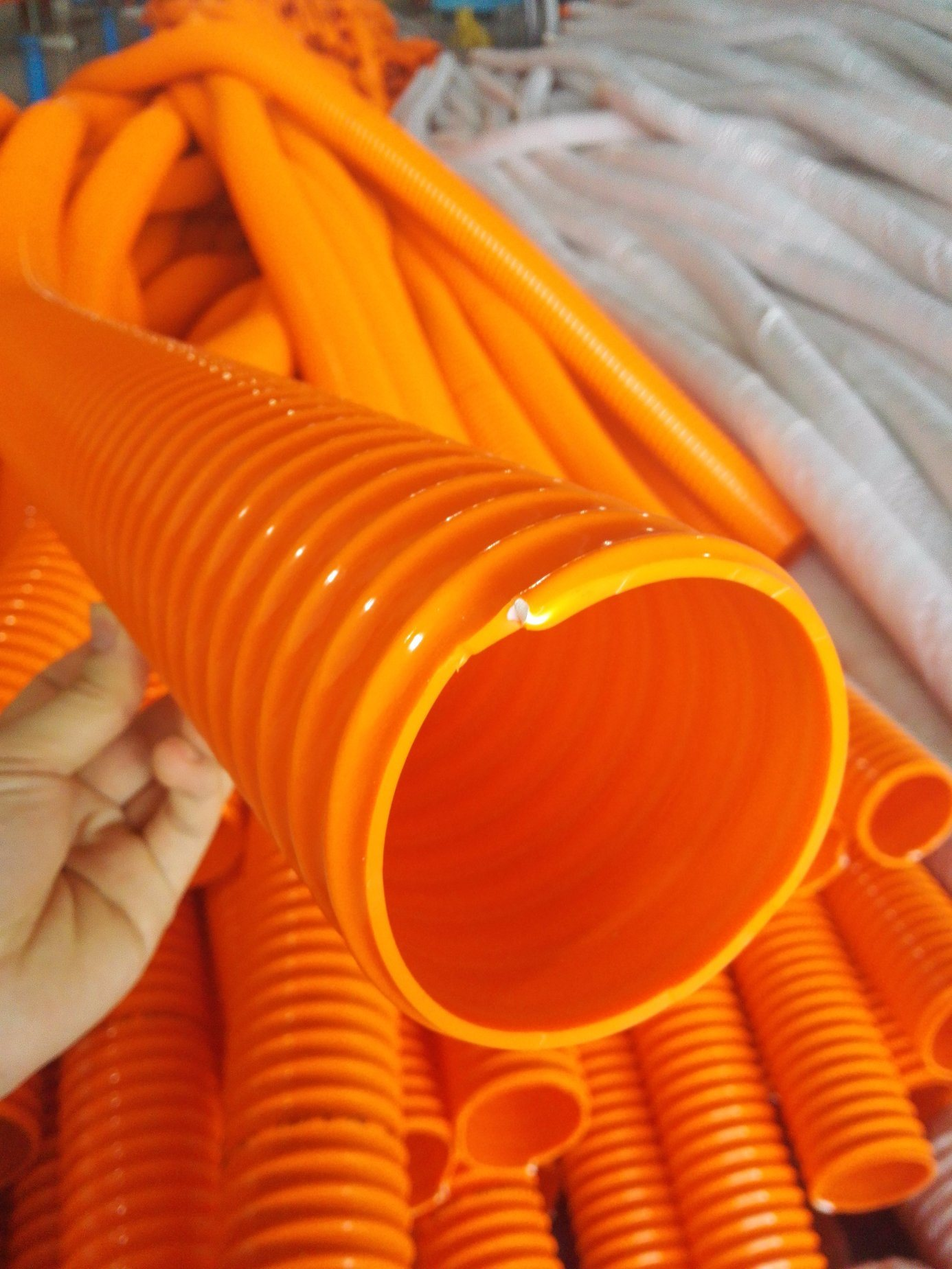 PVC Corrugated Suction Hose/Spiral Tube