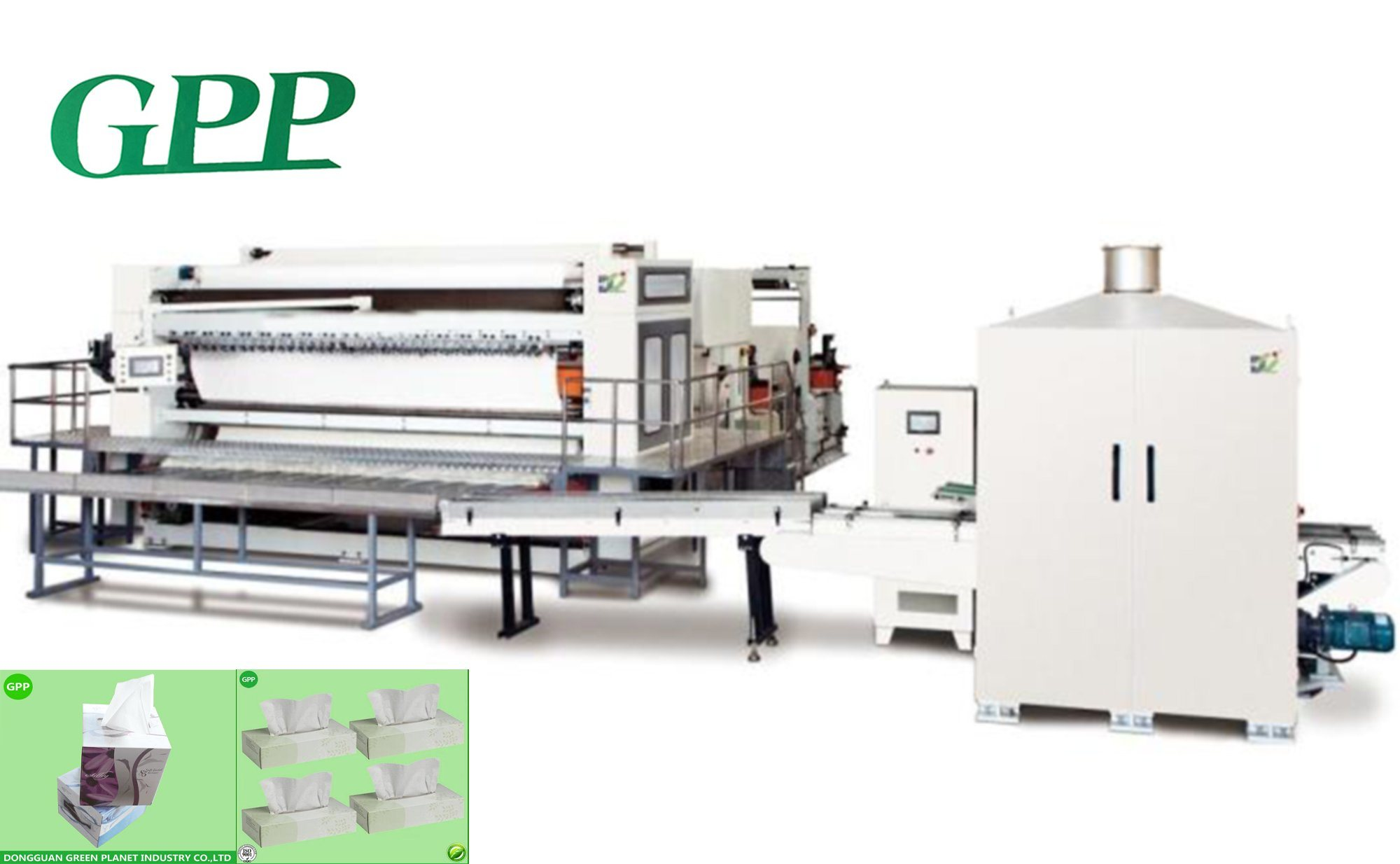 Automatic Folding Facial Tissue Machine Production Line
