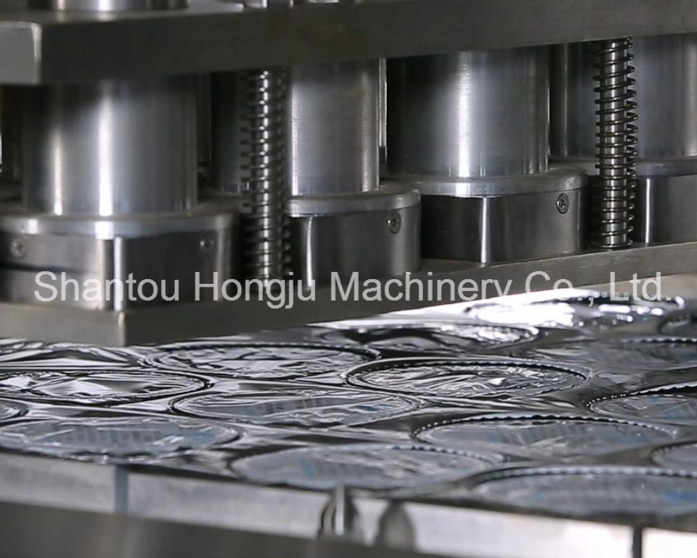 100 Ml Yogurt Cup Automatic Filling Sealing Machine