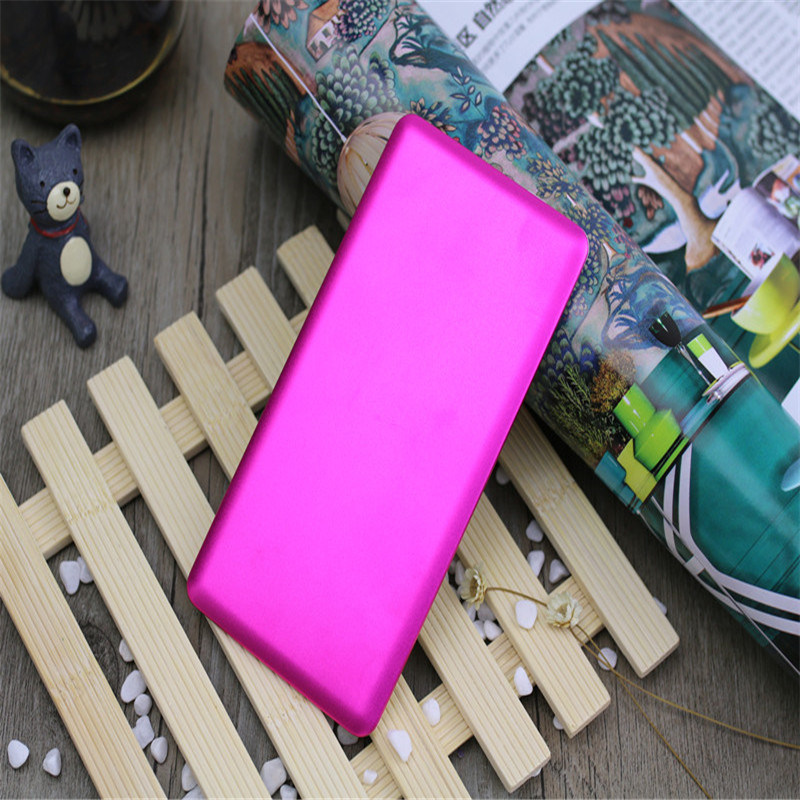 3000mAh Super Slim Mobile Power Bank Mobile Phone Battery Built-in Cable