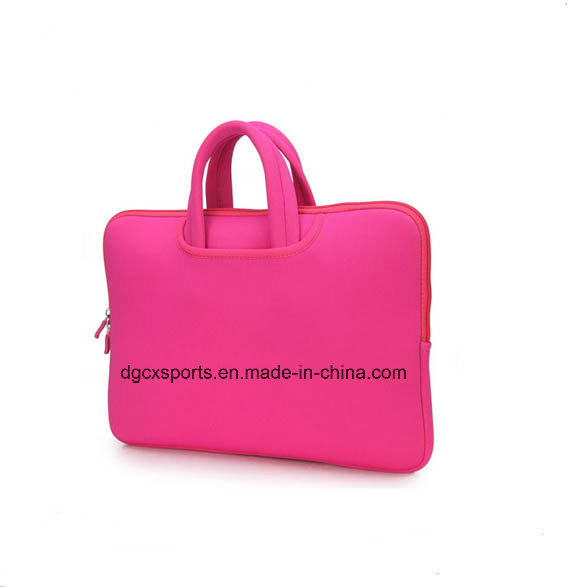 Colourful Neoprene Laptop Sleeve with Handle/Laptop Bag