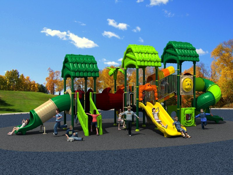 2017 New Mould Factory Kids Exercise Outdoor Playground Slide Equipment