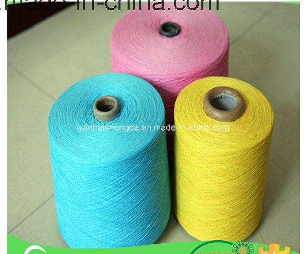 Ne20/2 Blended Dyed Cotton Polyester Twist Yarn for Weaving Bedsheet&Bedspread