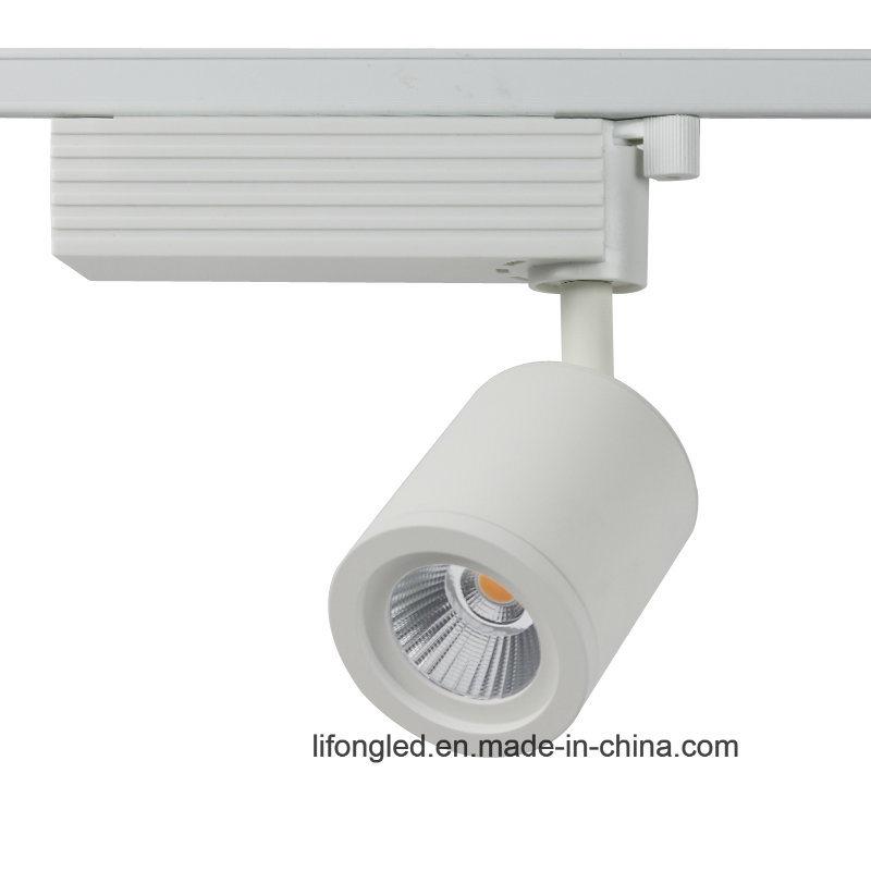 White Black Mini Spotlight 7W 9W 10W LED Track Rail Light